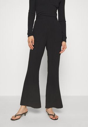 THE FLAWLESS PANT - Kalhoty - black
