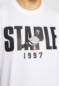 STAPLE PIGEON - 1997 LOGO TEE UNISEX  - Print T-shirt - white - 5