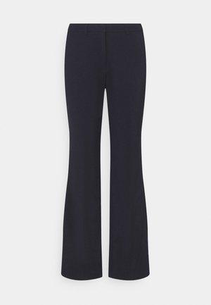 Flared trousers - Trousers - dark blue