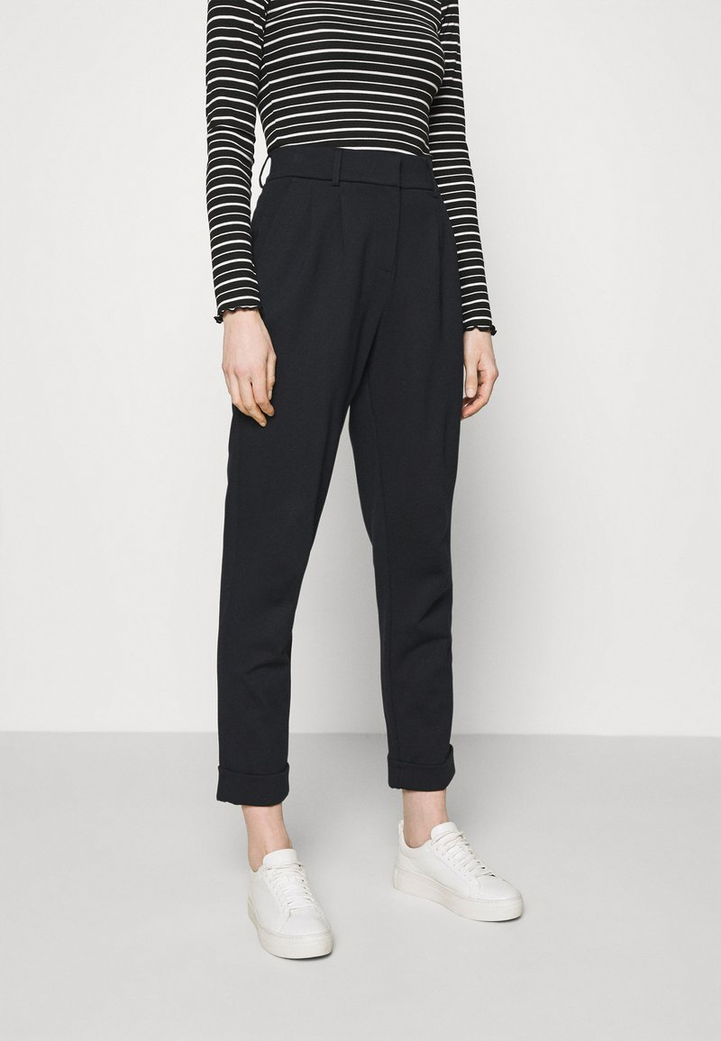 Opus - MARENI - Trousers - forever blue