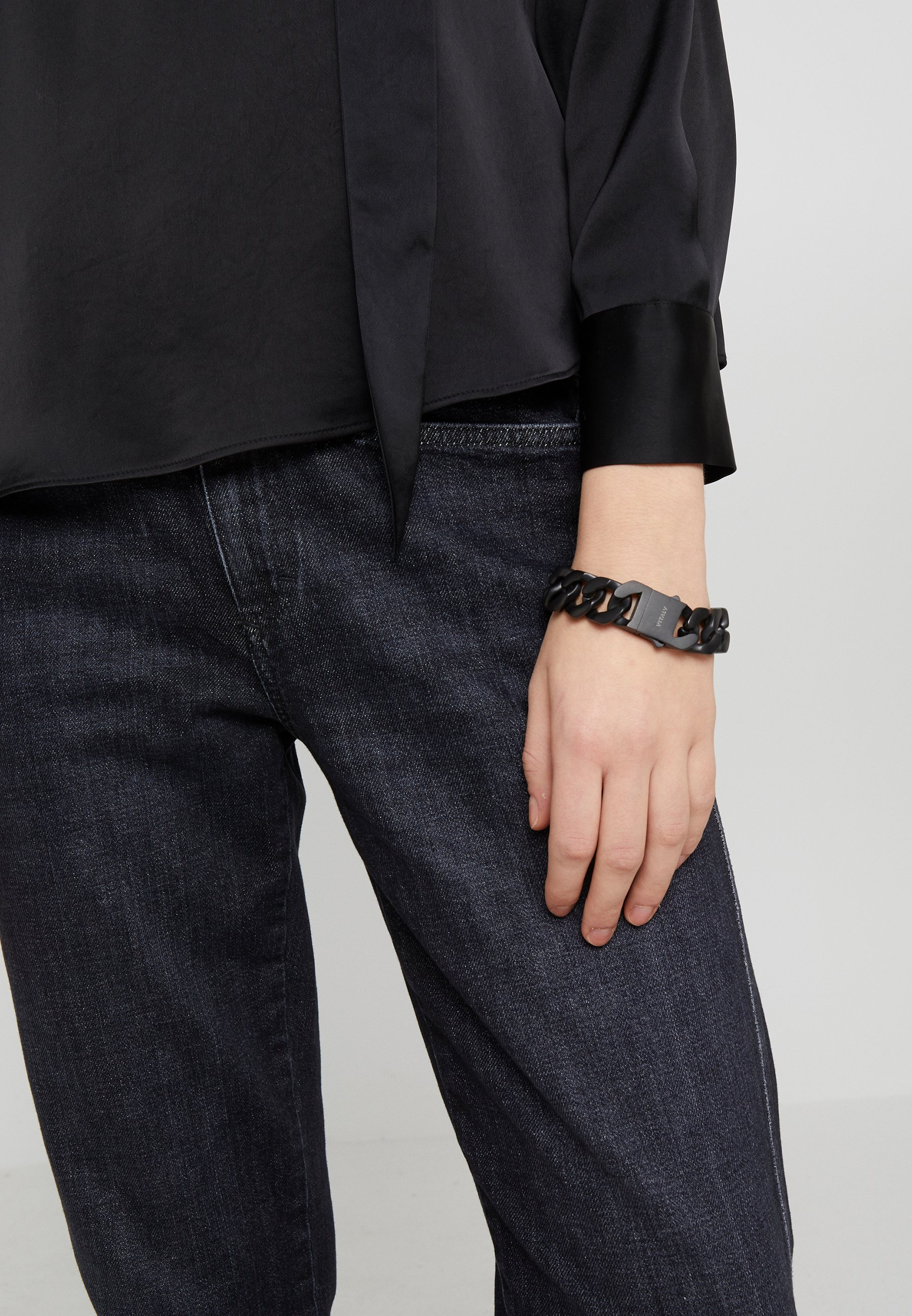 Cheap Outlet Vitaly INTEGER - Bracelet - matte black | men's accessories 2020 T8gli