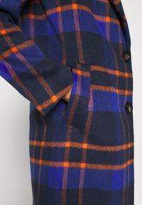ONLY - ONLTAYLOR CHECK WOOL COAT OTW - Classic coat - sodalite blue/scarlet ibis - 5