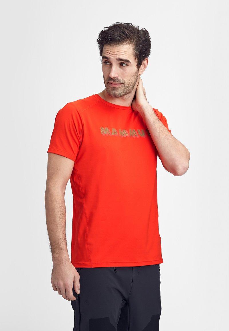 Mammut - SPLIDE - Print T-shirt - spicy