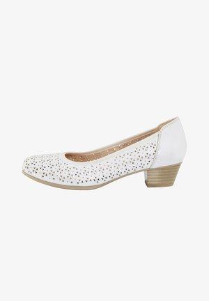 Classic heels - weiß
