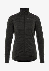 Craft - IDEAL THERMAL  - Outdoorová bunda - black melange - 6