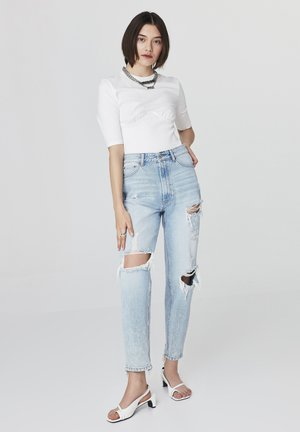 Relaxed fit jeans - l.indigo