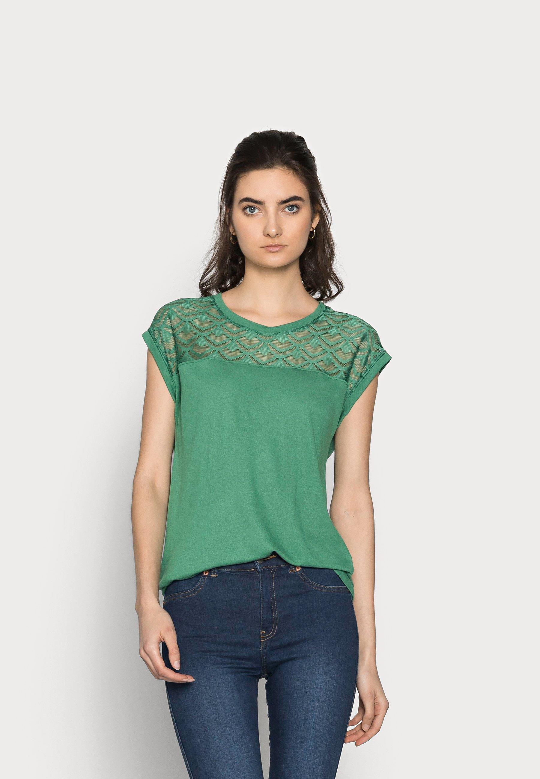 Women ONLNICOLE MIX - Basic T-shirt