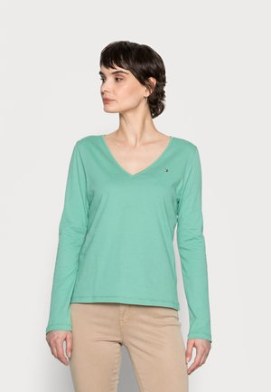 REGULAR CLASSIC  - Long sleeved top - frosted evergreen