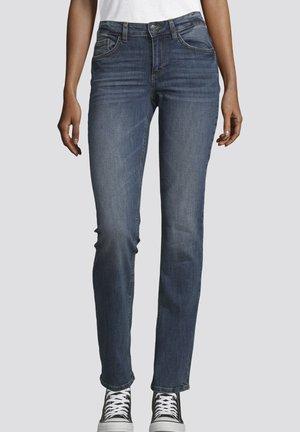 Slim fit jeans - stone wash denim