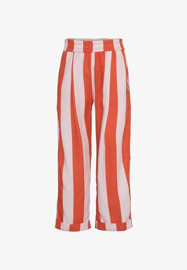 AMIE - Bukser - bonbon stripe