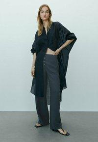 Massimo Dutti - Trousers - dark blue - 0