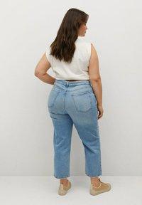 Violeta by Mango - Straight leg jeans - hellblau - 2