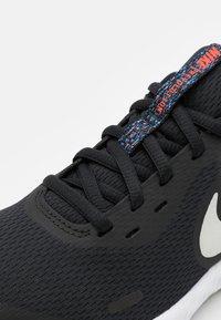 Nike Performance - REVOLUTION 5 MTF UNISEX - Neutral running shoes - black/white/bright crimson - 5