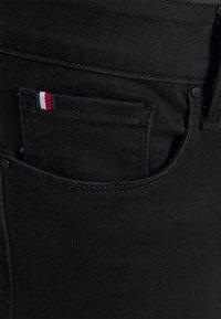 Tommy Hilfiger Curve - HARLEM  - Jeans Skinny Fit - black - 4