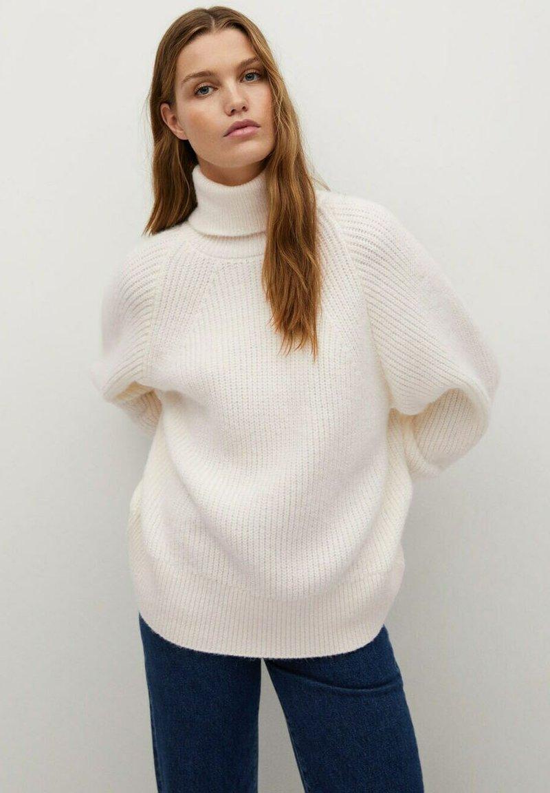 Mango - CHALET - Sweter - crudo