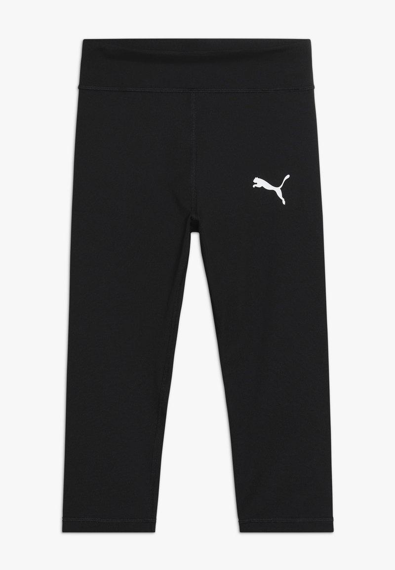 Puma - ACTIVE 3/4 - 3/4 sportovní kalhoty - black