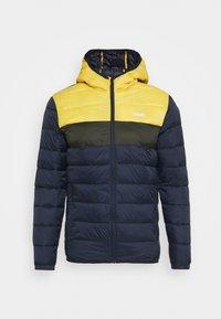 JJVINCENT PUFFER HOOD - Winter jacket - yolk yellow