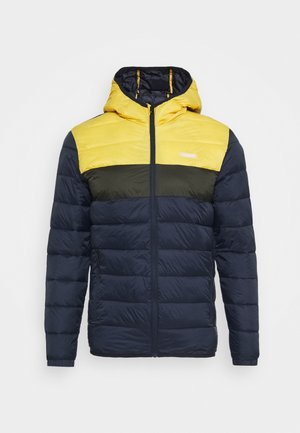 JJVINCENT PUFFER HOOD - Winter jacket - yolk yellow