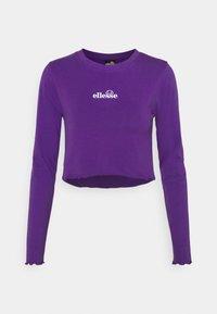 REO - Long sleeved top - purple