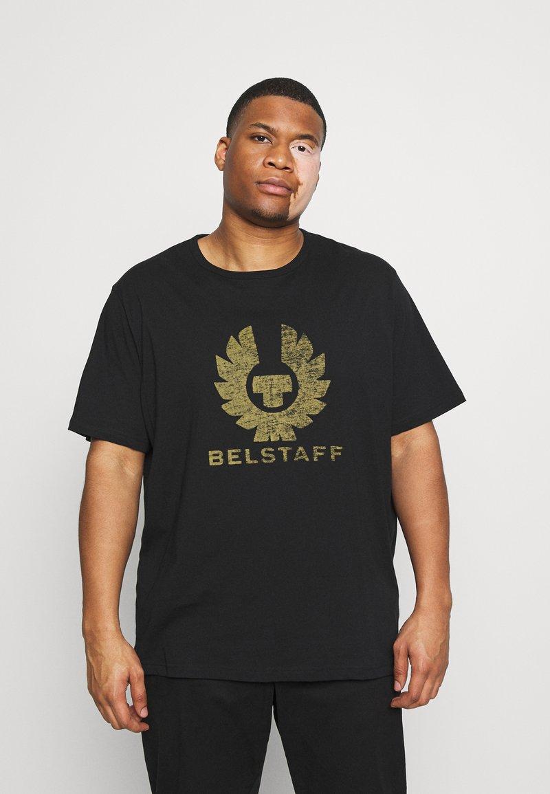 Belstaff - COTELAND OSHERITAGE - Print T-shirt - black