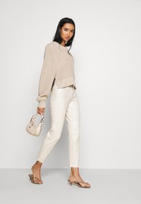 ONLY - ONLEMILY - Trousers - creme - 1