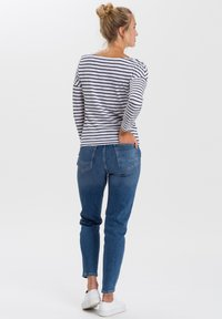 Cross Jeans - Long sleeved top - white/navy - 2