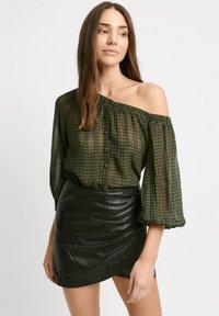 Kookai - Wrap skirt - z2-noir - 0
