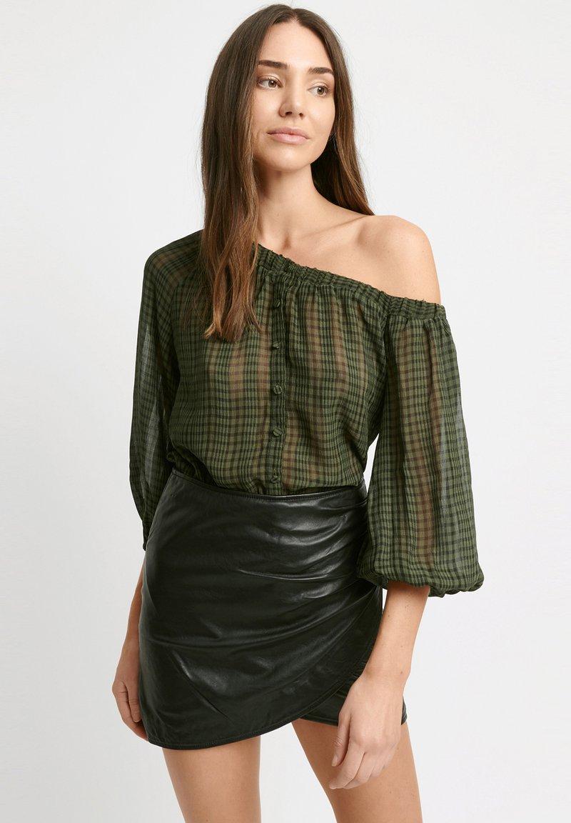 Kookai - Wrap skirt - z2-noir