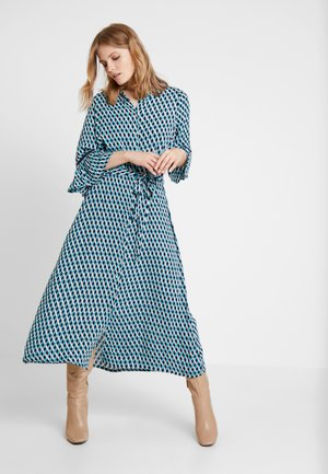 GINA DRESS - Maxikjole - maritime blue
