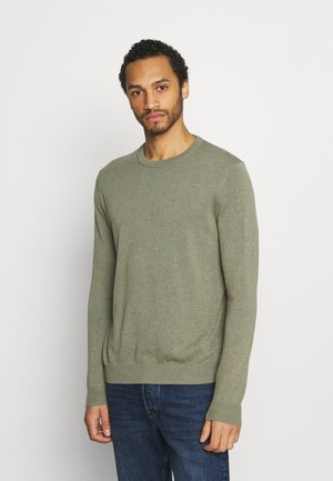 CREW - Trui - light khaki
