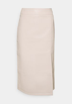 SKIRT - Pencil skirt - cream
