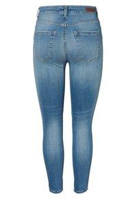 Pieces - Slim fit jeans - light blue denim - 1