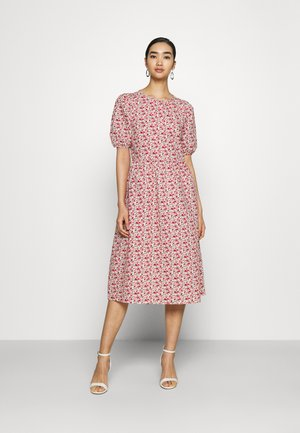 YASBARRY MIDI DRES - Day dress - eggnog/barry