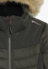 Brunotti - JACIANO JRGIRLS SNOWJACKET - Laskettelutakki - pine grey - 7