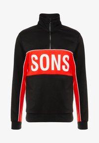 ONSLANE ZIP - Sweatshirt - black
