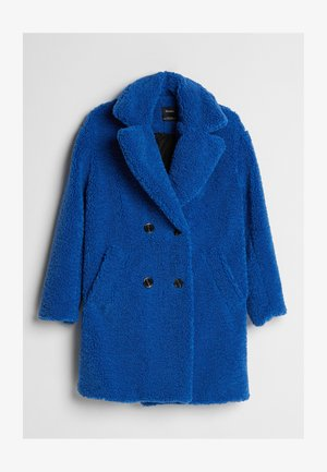 MIT LAMMFELLIMITAT - Winter coat - blue