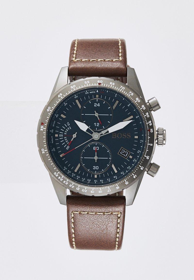 BOSS - PILOT EDITION  - Cronografo - brown/blue