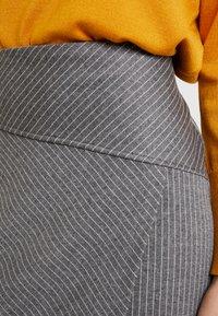Soyaconcept - AMAJA - A-snit nederdel/ A-formede nederdele - dark grey melange - 4