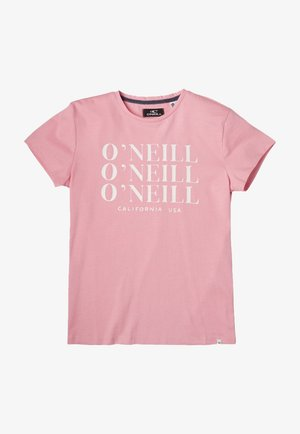 T-shirt con stampa - sea pink