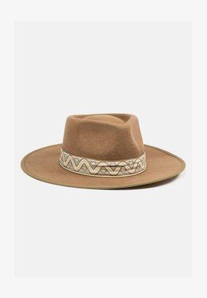 HUT YOUNES FEDORA - Hat - brown