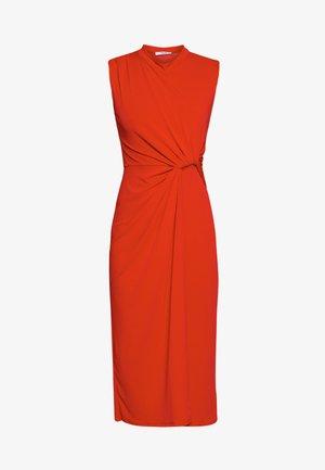 SIDE KNOT DRESS - Robe de soirée - red