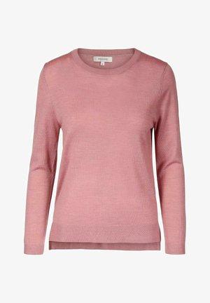 EVERYDAY SWEATER - Strikkegenser - pink melange