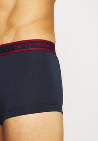 Emporio Armani - TRUNK 3 PACK - Pants - marine - 5