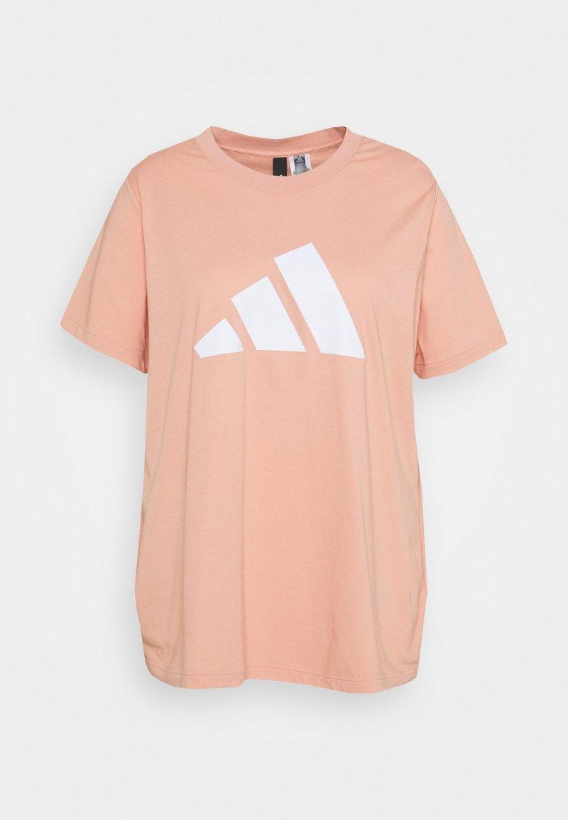 adidas Performance - TEE PLUS - Print T-shirt - ambient blush