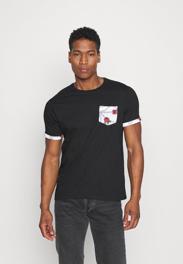 TIMAYA - T-shirt print - black