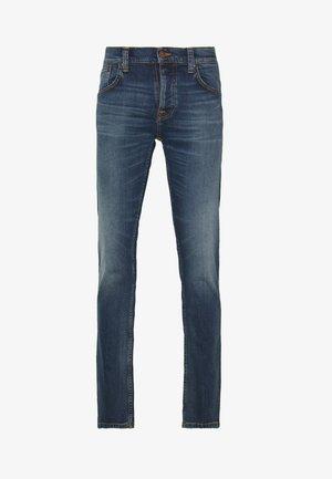 GRIM TIM - Jeans slim fit - dark blue denim