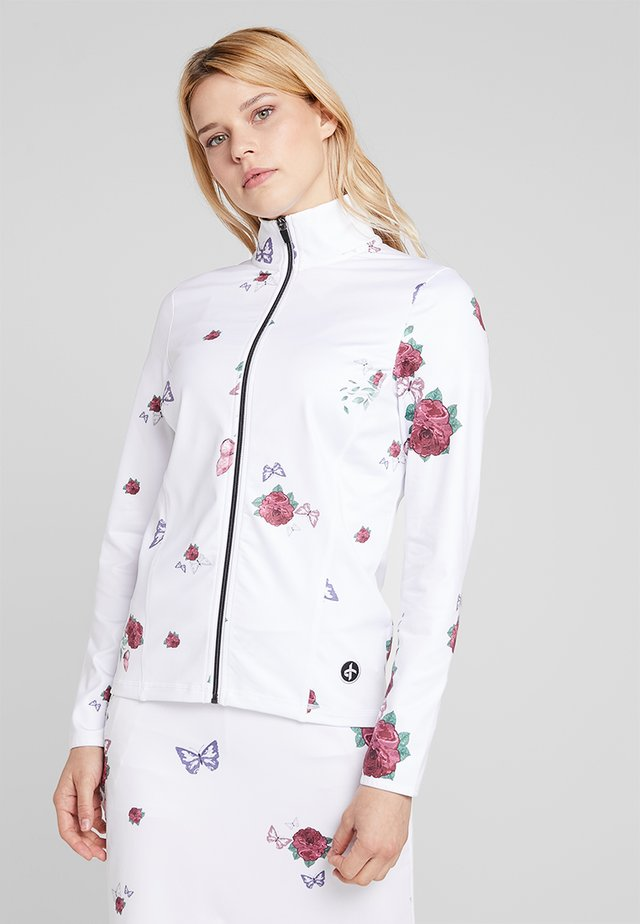TECH FULL ZIP - Training jacket - white