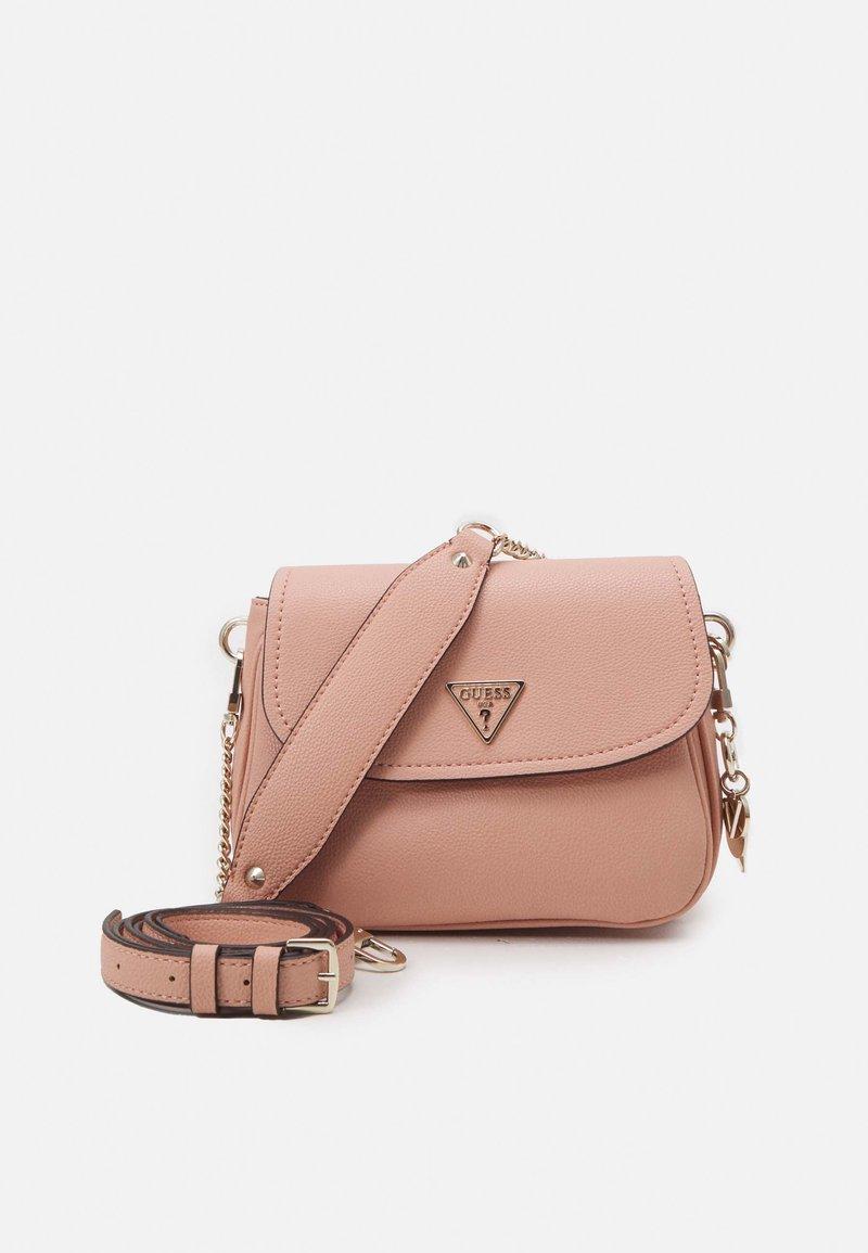 Guess - HANDBAG DESTINY SHOULDER BAG - Handbag - blush