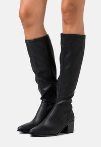 Bianco - BIAABBIE LONG BOOT - Vysoká obuv - black - 0