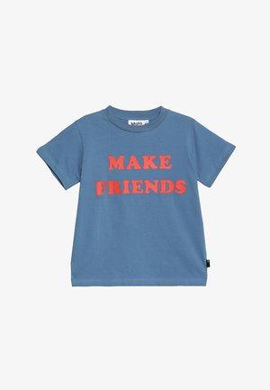 REEVE - Print T-shirt - twilight blue
